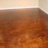Diamond Ground Floor with Acid Stain