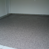 Double Broadcast Epoxy Garage Floor