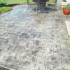 Stamped Patio – Slate Grey – Yadkinville, NC